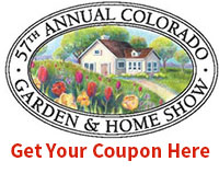 Colorado Home and Garden Show coupon 2016